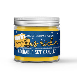 Lemon - Cream Scented - Magic Bus Candle - 1 oz - Dio Candle Company