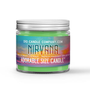 Nirvana Candle - Eucalyptus - Spearmint - 1oz Adorable Size Candle® - Dio Candle Company