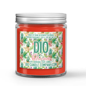 Hawaiian Ohana Candle - Hawaiian Pineapple - Plumeria - Coconut - 4oz Very Adorable Size Candle® - Dio Candle Company