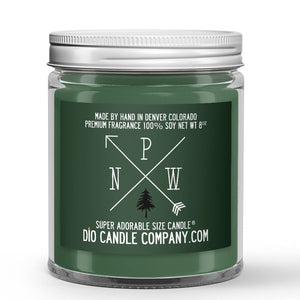 PNW Candle - Moss Covered Oak Trees - Sage - Amber - 8oz Super Adorable Size Candle® - Dio Candle Company