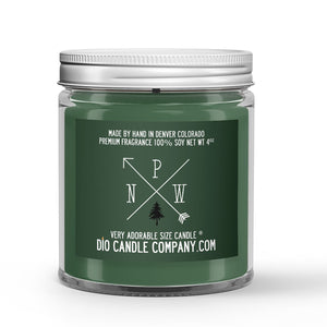 Moss Covered Oak Trees - Sage - Amber Scented - PNW Candle - 4 oz - Dio Candle Company