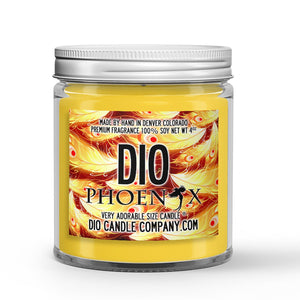 Phoenix Candle Cinnamon - Honey - Ash Scented - Dio Candle Company