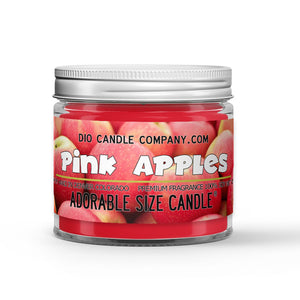 Pink Apples Candle - Tart Pink Apples - 1oz Adorable Size Candle® - Dio Candle Company