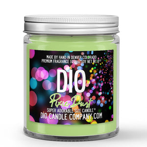 Pixie Dust Candle - Sea Water - Coconut Milk - Fresh Fruit - 8oz Super Adorable Size Candle® - Dio Candle Company