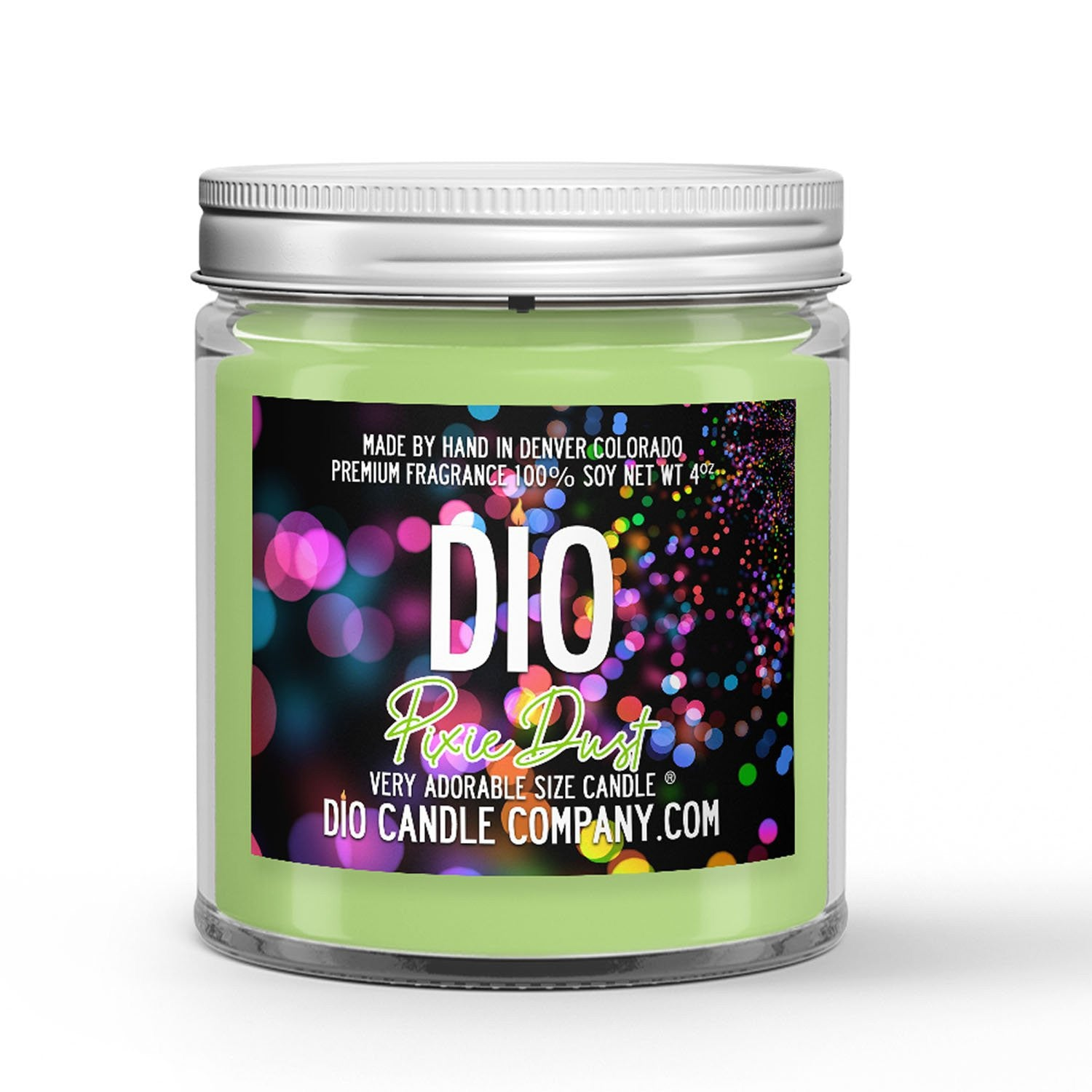 Pixie Dust Candle Sea Water - Coconut Milk Scented - Dio Candle Company