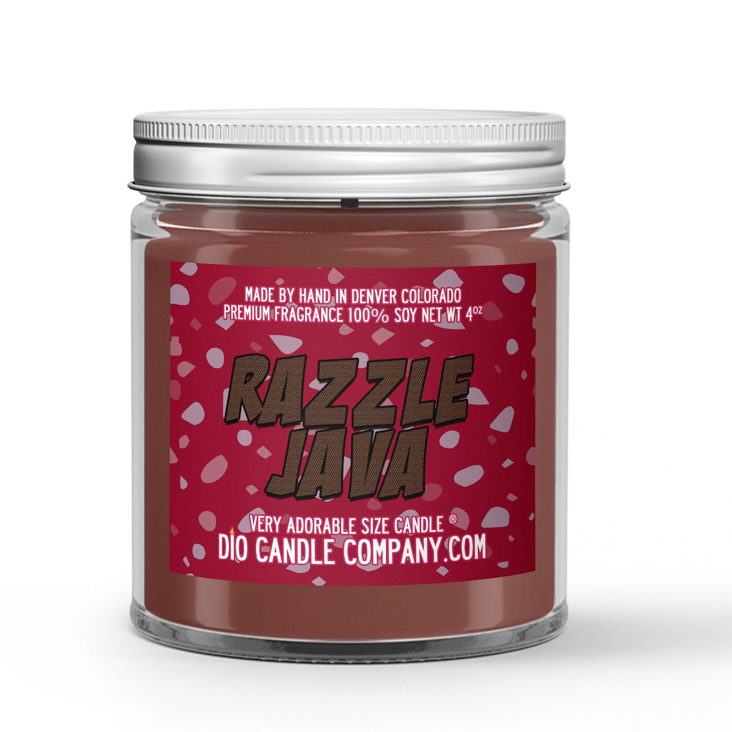 Razzle Java Coffee Candle