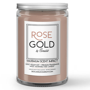 Rose Gold Candles and Wax Melts