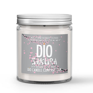 Sakura Candle Cherry Blossoms Scented - Dio Candle Company