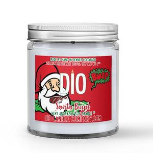 Santa Burps Candle Sugar - Ginger - Maple Scented - Dio Candle Company