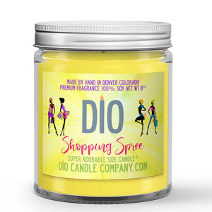 Shopping Spree Candle - CK1 Type - New Blouse - 8oz Super Adorable Size Candle® - Dio Candle Company