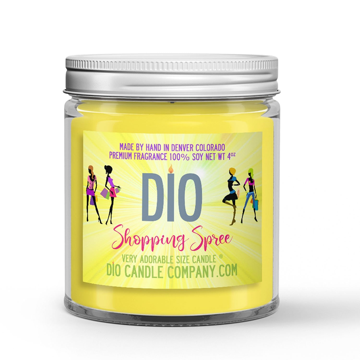 Shopping Spree Candle - CK1 Type - New Blouse - 4oz Very Adorable Size Candle® - Dio Candle Company