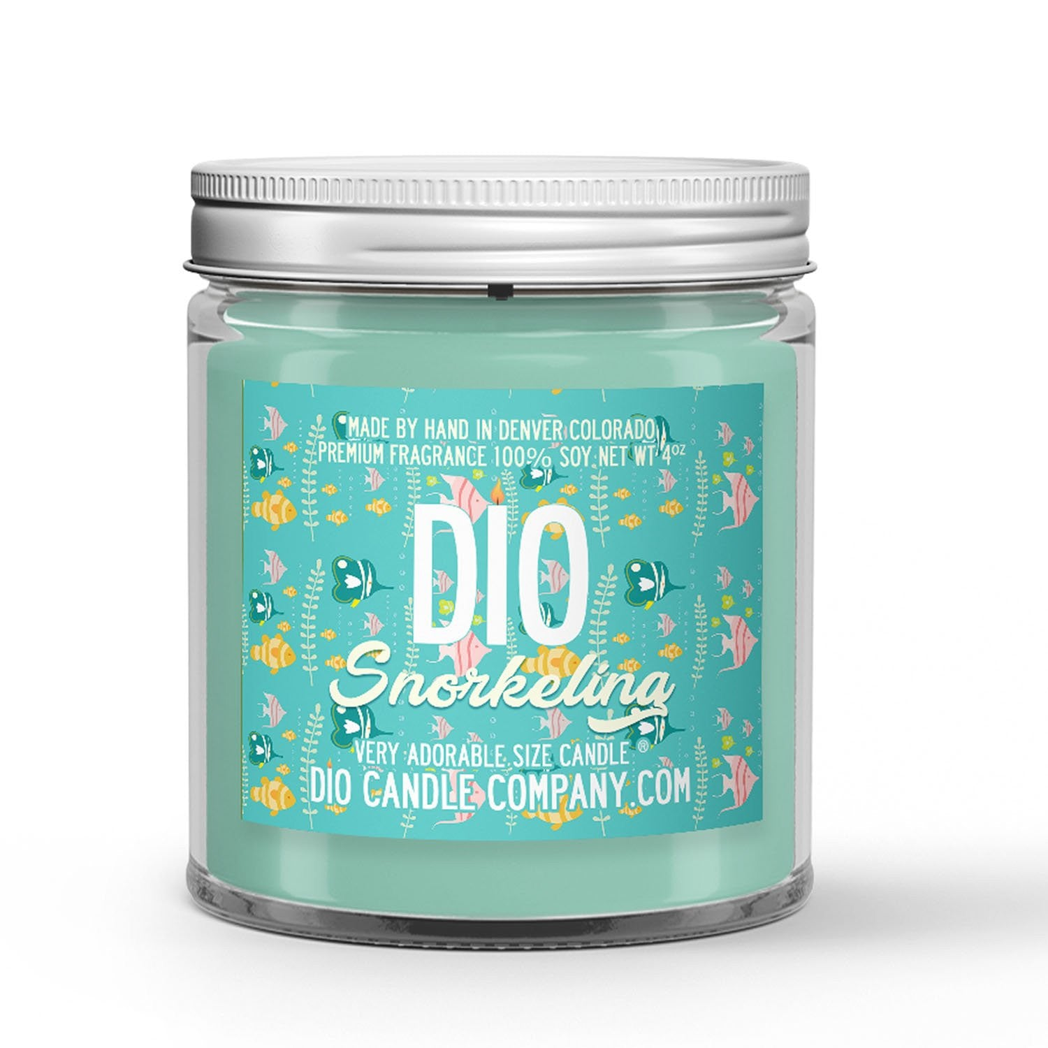 Snorkeling Candle Sunscreen - Ocean Waves Scented - Dio Candle Company