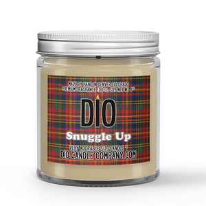 Snuggle Up Candle Quilt - Cinnamon Scented - Dio Candle Company