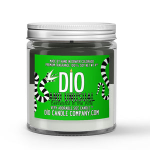 Strange and Unusual Candle - Orange Juice - Dusty Musk - 4oz Very Adorable Size Candle® - Dio Candle Company