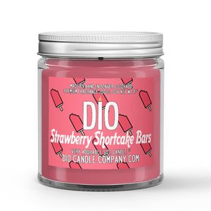 Strawberry Shortcake Ice Cream Candles and Wax Melts