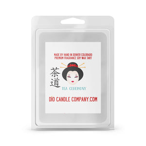 Tea Ceremony Candles and Wax Melts