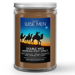 Three Wise Men Candle Frankincense and Myrrh Scented - Dio Candle Company