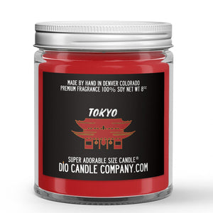 Tokyo Candle Citrus - Cinnamon - Clove Scented - Dio Candle Company