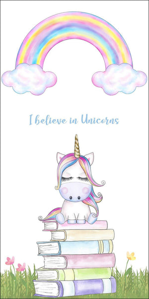 I believe in Unicorns Adorable Bookmark By Dio Candle Dio Candle Company