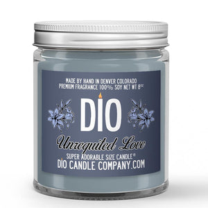 Unrequited Love Candle Salty Water - Lily Scented - Dio Candle Company