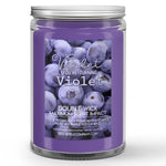 Violet You're Turning Violet Candle Blueberries - Cream Scented - Dio Candle Company
