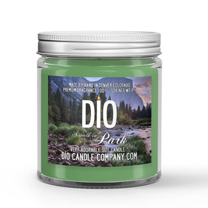 Walk in The Park Candle Amber - Pine - Flowers Scented - Dio Candle Company