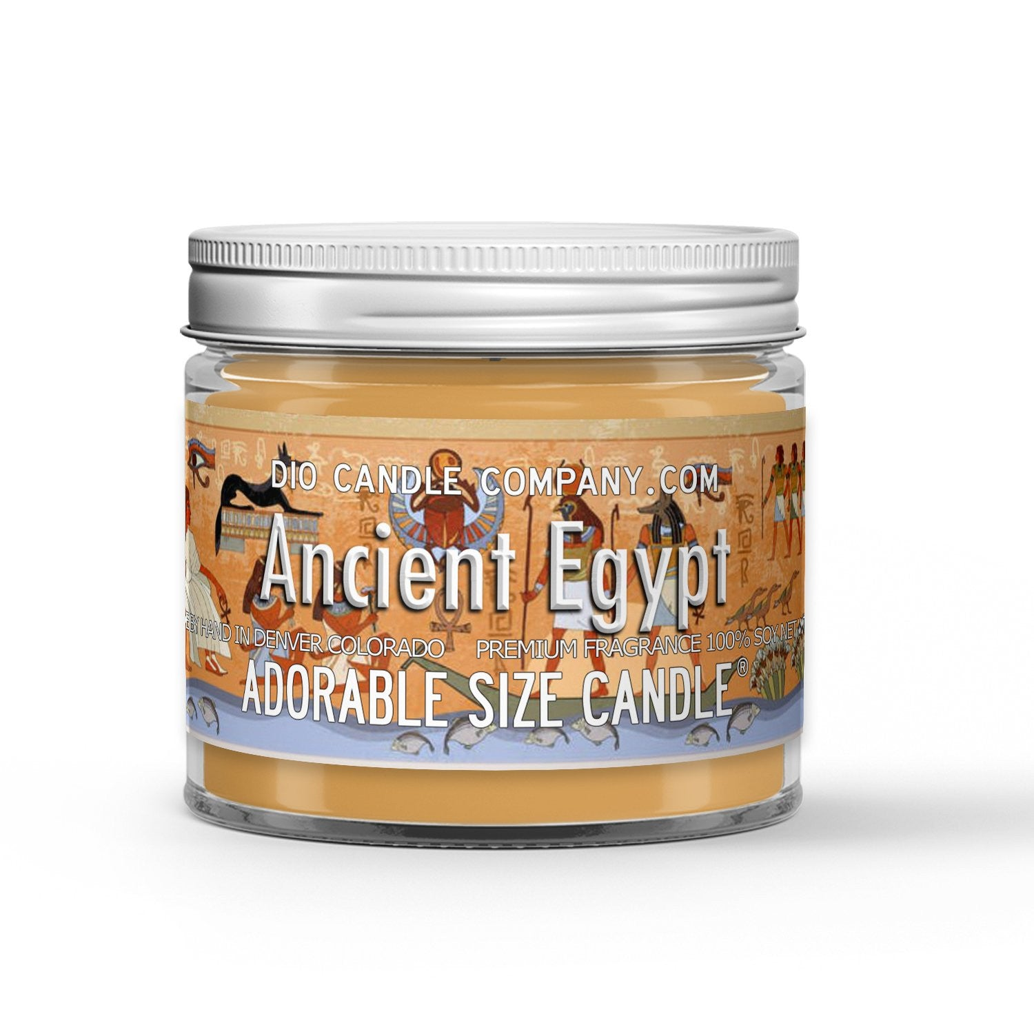 Ancient Egypt Candle - Ancient Amber - 1oz Adorable Size Candle® - Dio Candle Company