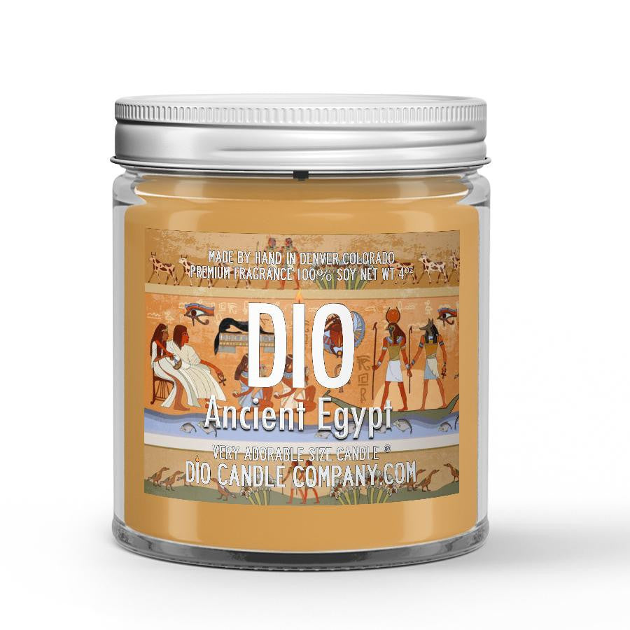 Ancient Egypt Candle - Ancient Amber - 4oz Very Adorable Size Candle® - Dio Candle Company