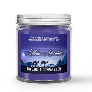 Arabian Adventure Candle - Coriander - Vanilla Bean - Spices - 4oz Very Adorable Size Candle® - Dio Candle Company