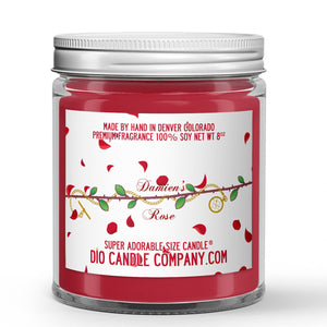 Ashley Townsend Book Candles - Assorted - Damien's Rose / 8oz Super Adorable Size Candle®
