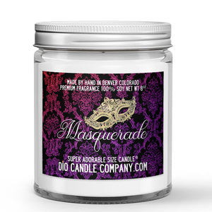 Ashley Townsend Book Candles - Assorted - Masquerade / 8oz Super Adorable Size Candle®