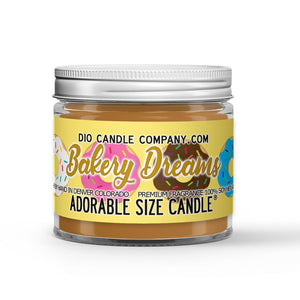 Bakery Dreams Candle - Cookies - Donuts - Pastries - 1oz Adorable Size Candle® - Dio Candle Company