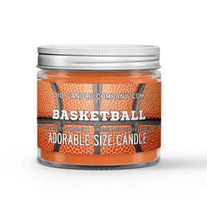Personalized Basketball Candle - Brand New Basketball - 1oz Adorable Size Candle® - Dio Candle Company
