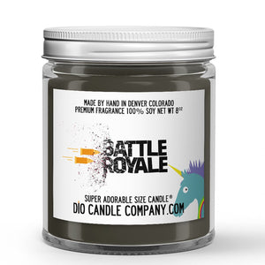 Battle Royale Candle - Vanilla Chai - 8oz Super Adorable Size Candle® - Dio Candle Company