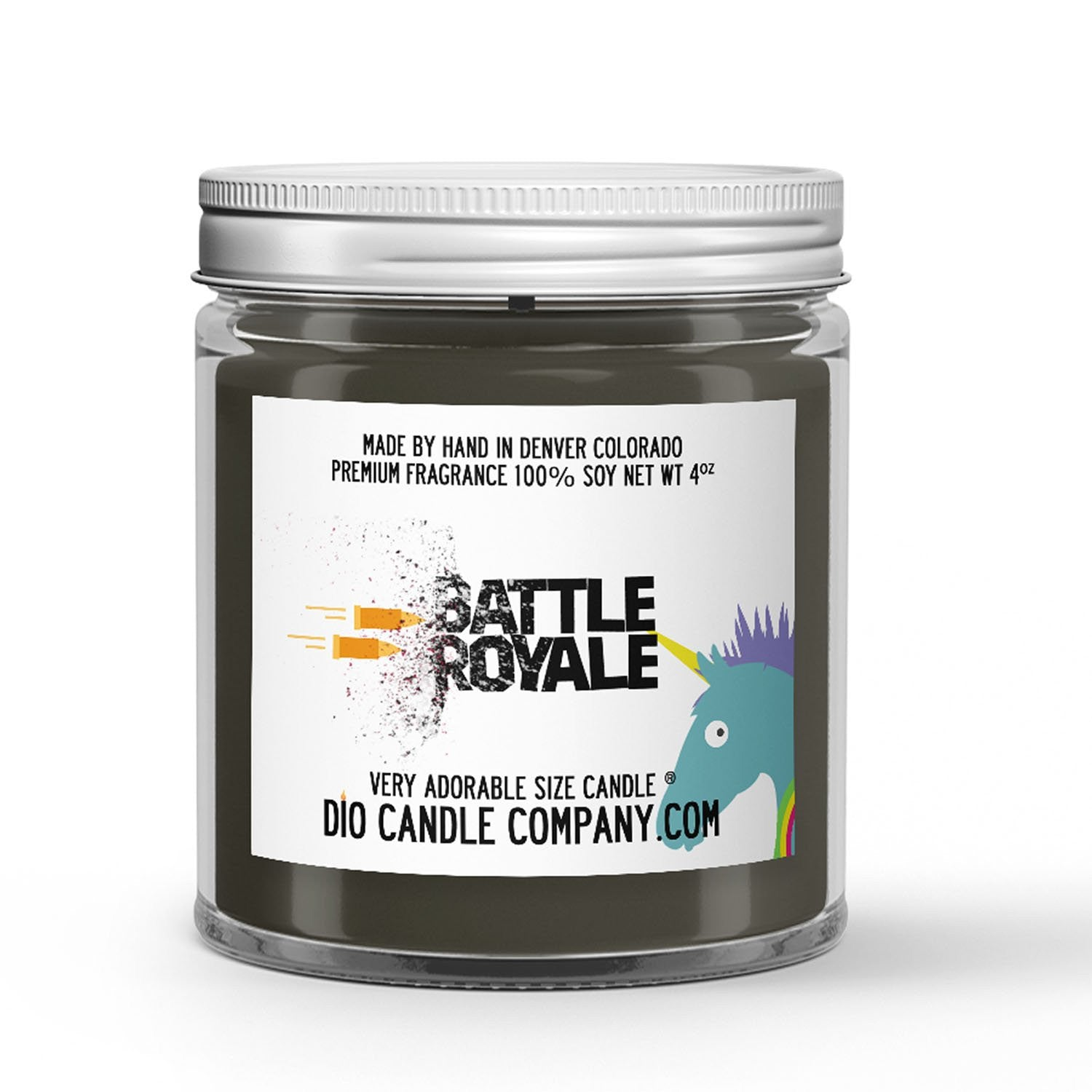 Battle Royale Candle - Vanilla Chai - 4oz Very Adorable Size Candle® - Dio Candle Company
