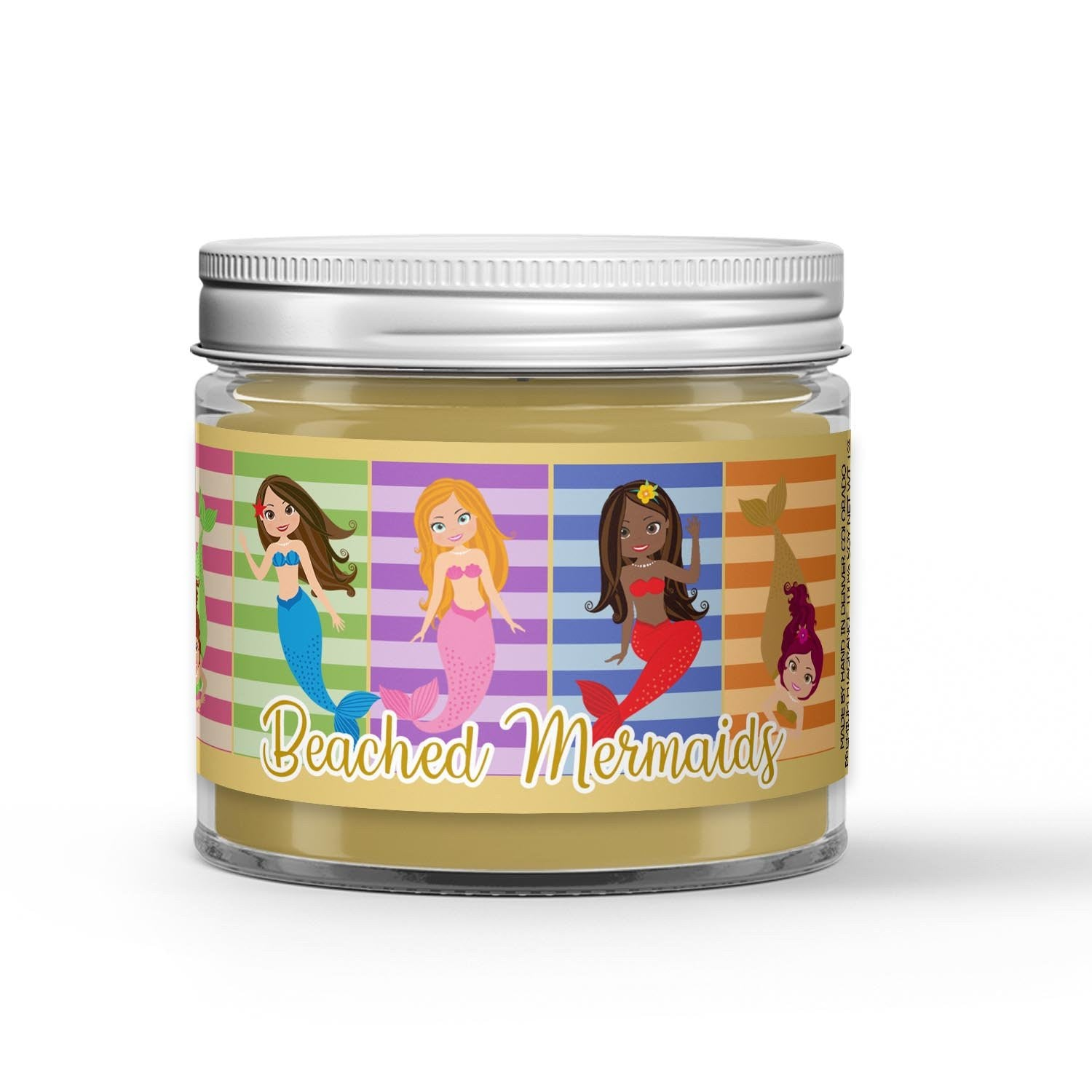 Beached Mermaid Candle