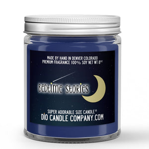 Bedtime Stories Candle - Oatmeal Cookies - Milk - 8oz Super Adorable Size Candle® - Dio Candle Company