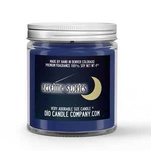 Bedtime Stories Candle - Oatmeal Cookies - Milk - 4oz Very Adorable Size Candle® - Dio Candle Company