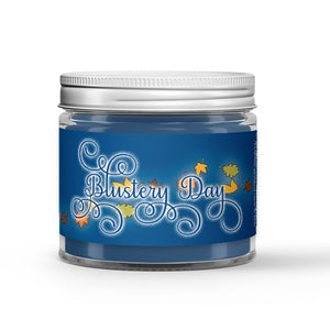 Blustery Day Candle - Dirt - Leaves - Rain - 1oz Adorable Size Candle® - Dio Candle Company