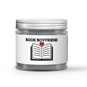 Book Boyfriend Candle - Smoked Caramel - 1oz Adorable Size Candle® - Dio Candle Company