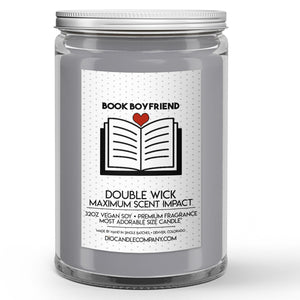 Book Boyfriend Candles and Wax Melts