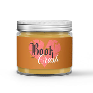 Book Crush Candle - Cologne - Musk - Amber - 1oz Adorable Size Candle® - Dio Candle Company