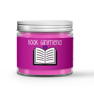 Book Girlfriend Candle - Parchment - Spearmint - Freshly Mown Grass - 1oz Adorable Size Candle® - Dio Candle Company