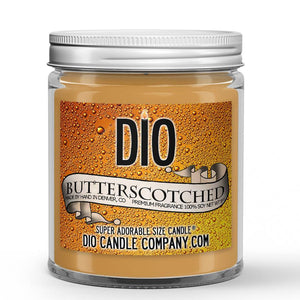 Butterscotched Candle - Frothy Butterscotch Beer - 8oz Super Adorable Size Candle® - Dio Candle Company