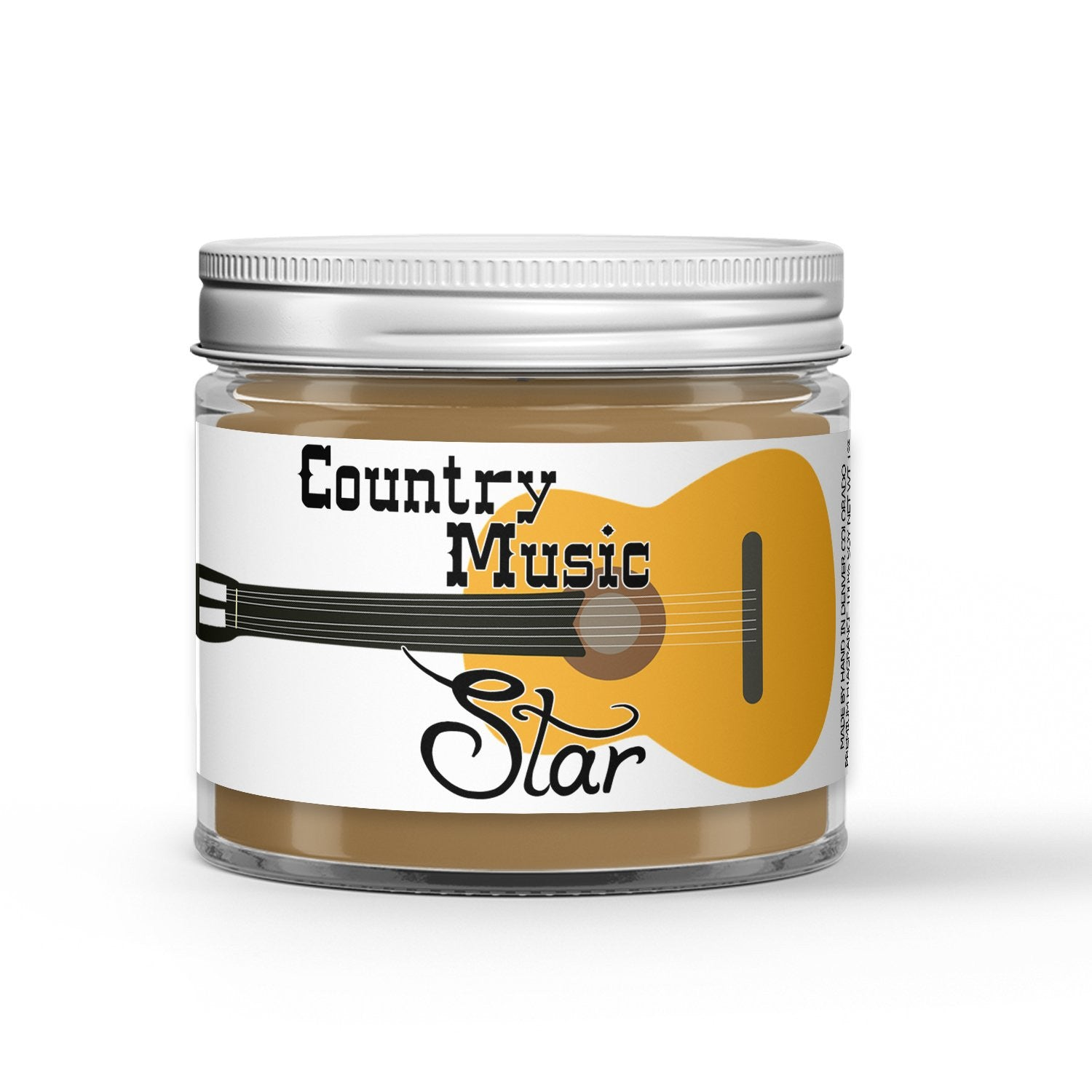 Country Music Star Candle - Bergamot - Sun Baked Grass - White Tea - 1oz Adorable Size Candle® - Dio Candle Company