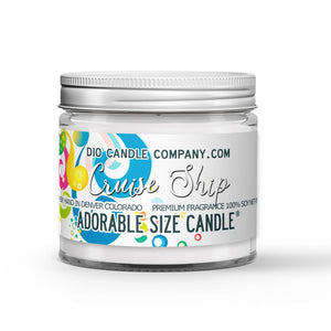 Cruise Ship Candle - State Room - Salty Ocean Air - 1oz Adorable Size Candle® - Dio Candle Company