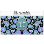 "Dio Adorable Logo 1"" Round Enamel Pin  Scented - Dio Candle Company"