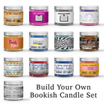 Bookish Candle Gift Set Gift Box Set Scented - Dio Candle Company