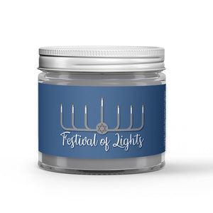 Festival of Lights Candle Vanilla Bean Scented - Dio Candle Company