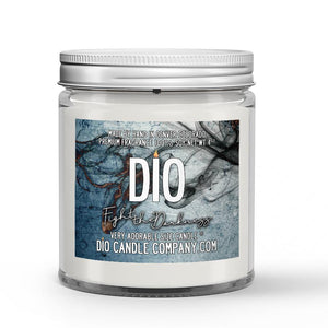 Fight the Darkness Candle Fruity - Floral - Citrus Scented - Dio Candle Company